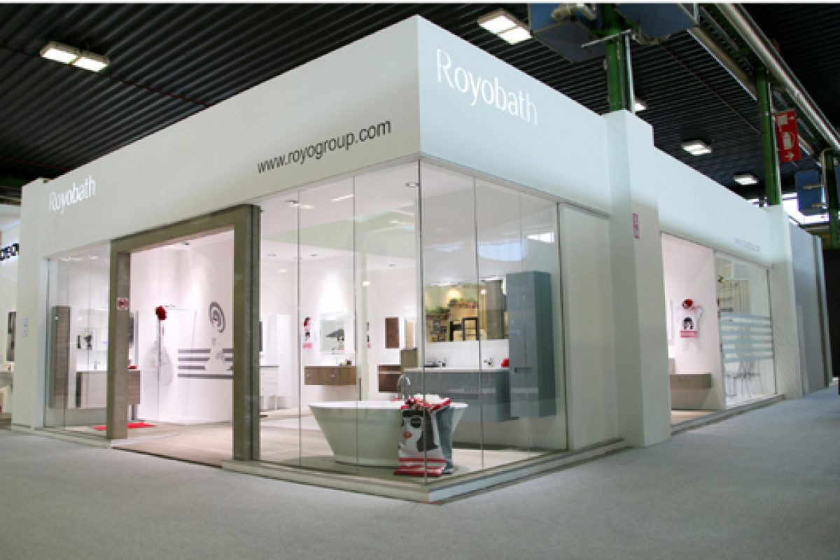 Royo Group attends Cersaie 2013 consolidated in the Italian market