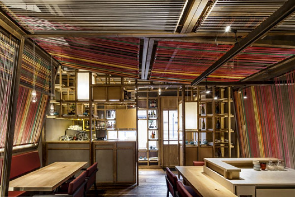 Pakta Restaurant. A design by El Equipo Creativo recently honored at The Great Indoors Award