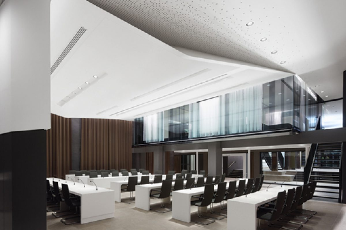 Ippolito Fleitz Group presents the award-winning project of Schorndorf Town Hall renovation in Germany