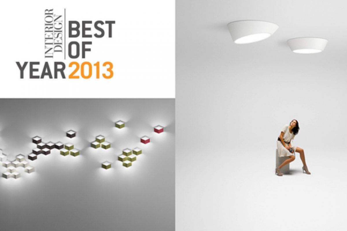 Plus and Fold collections by Vibia win Interior Design Magazine Best of the Year 2013