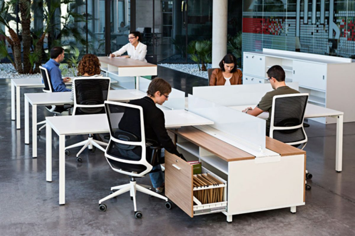 Spine by Actiu, the backbone of the future office