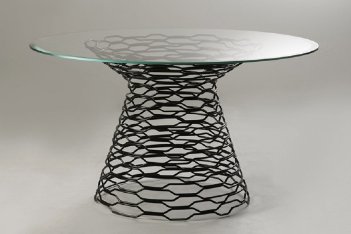 imm cologne preview: Tron table designed by Marc Sadler for Capo d'Opera