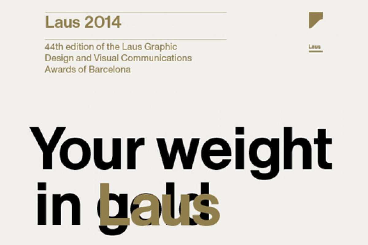 Call for entries for the Laus 2014 Graphic Design and Visual Communications Awards