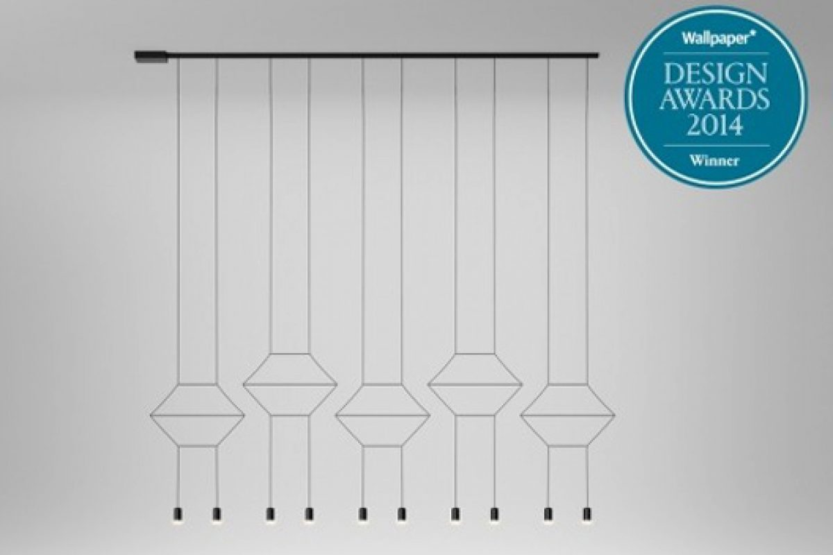 WIREFLOW collection of Vibia, designed by Arik Levy, distinguished at Wallpaper* Design Awards 2014