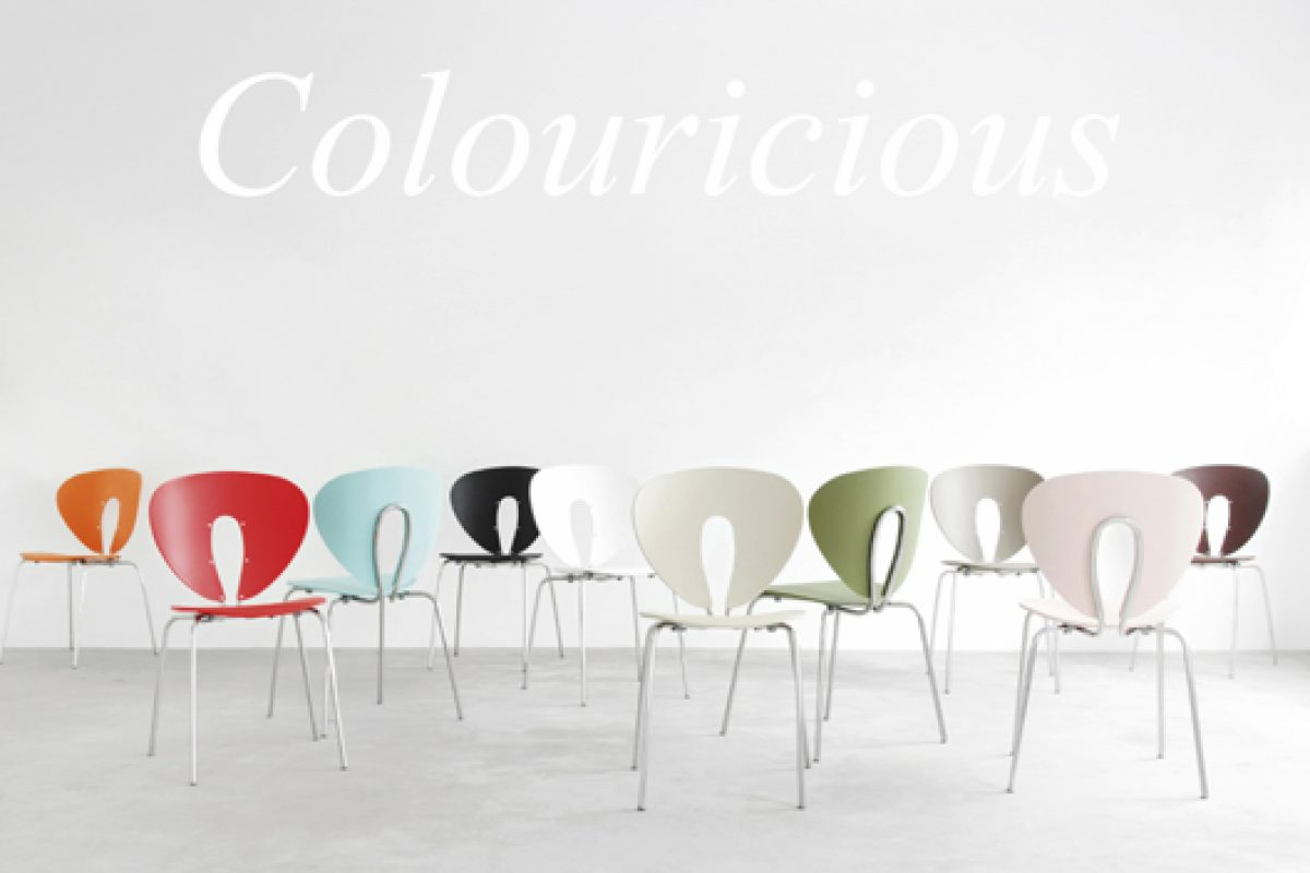 Colouricious: Stua presents the new colors palette for the Globus chair