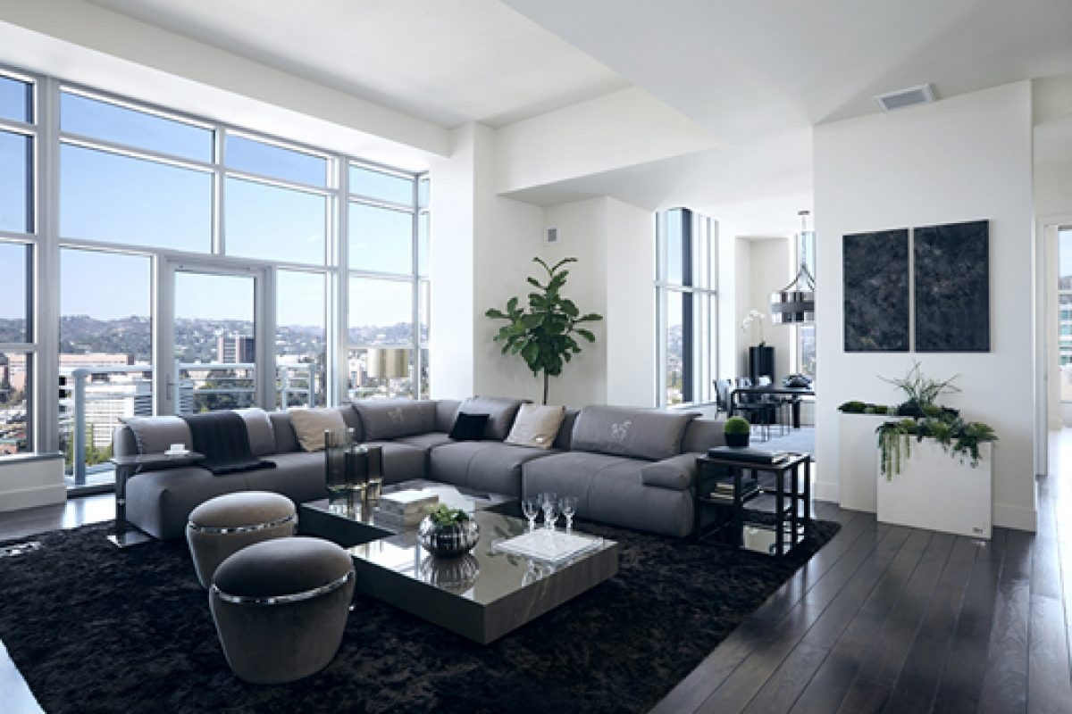 Fendi Casa and The Carlyle Residences. Luxury and style in the most chic of Los Angeles