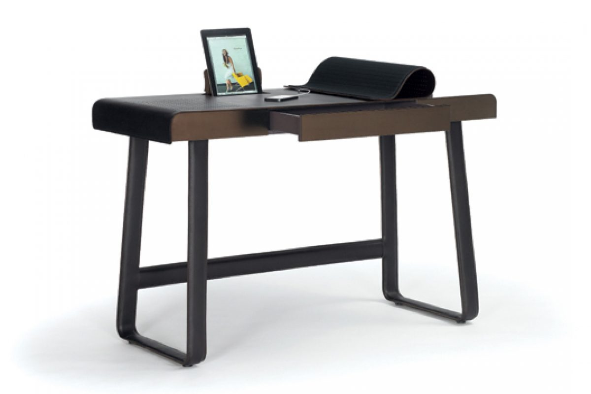 Pegasus Home Desk designed by Tilla Goldberg of Ippolito Fleitz Group for German company ClassiCon