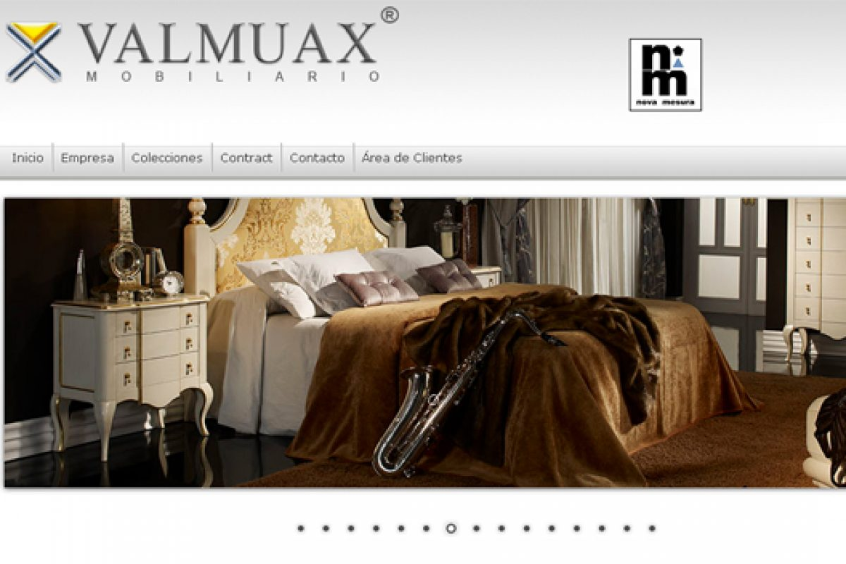 Valmuax presents new website, a showcase for its new furniture collections