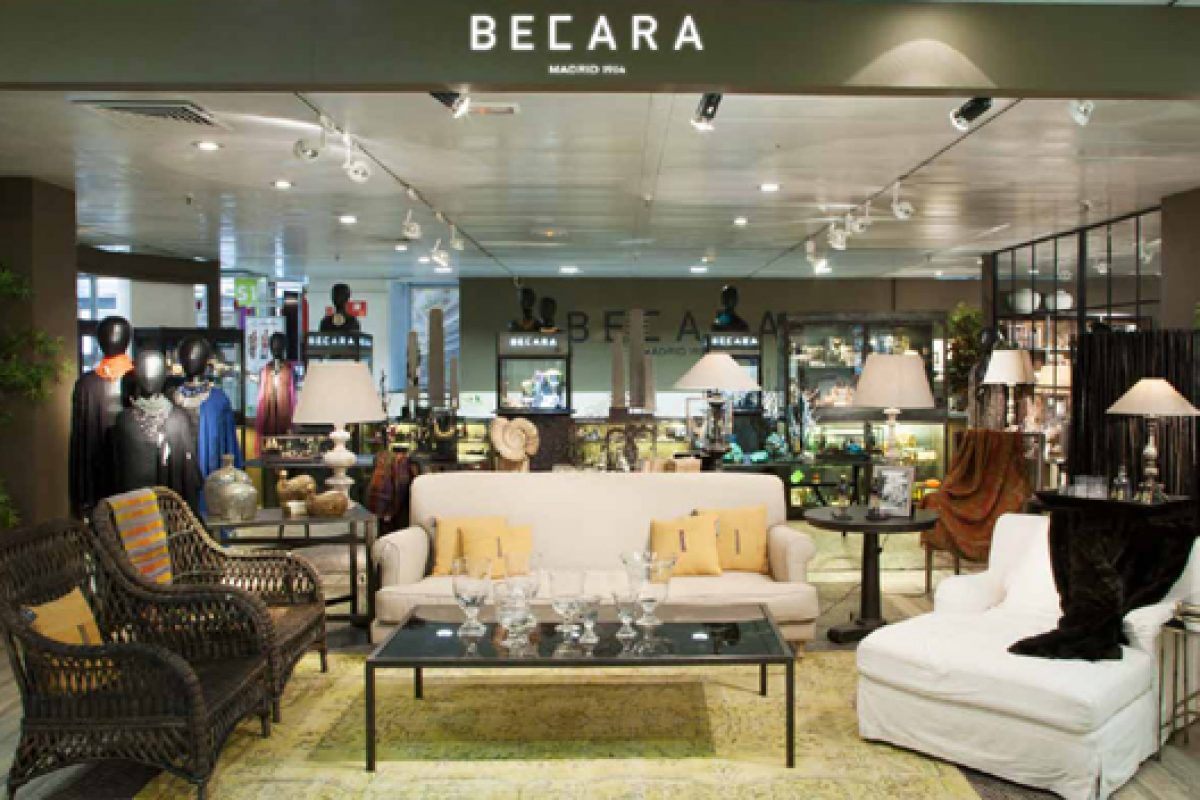 Becara opens a new shop at Castellanas 85's «El Corte Ingles» in Madrid
