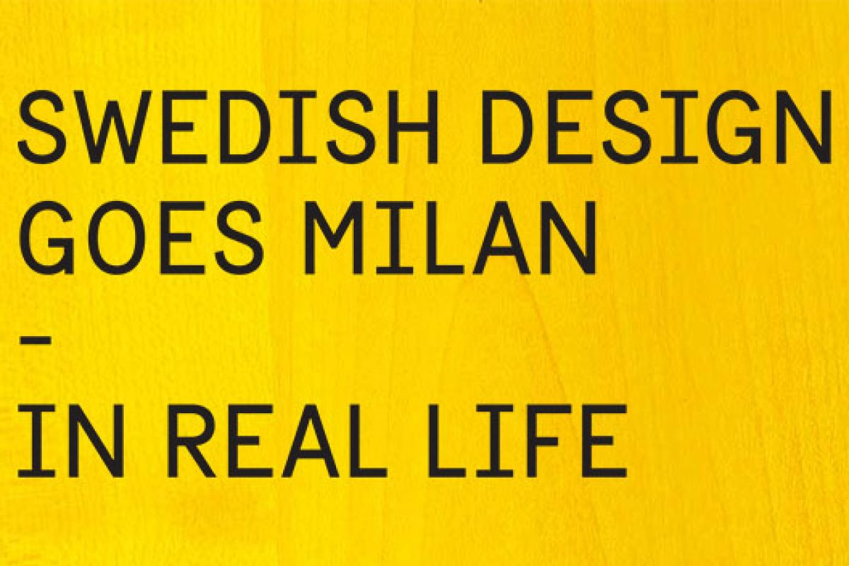 Swedish Design Goes Milan: 40 Swedish designers and companies take over La Posteria during the Milan Design Week 2014