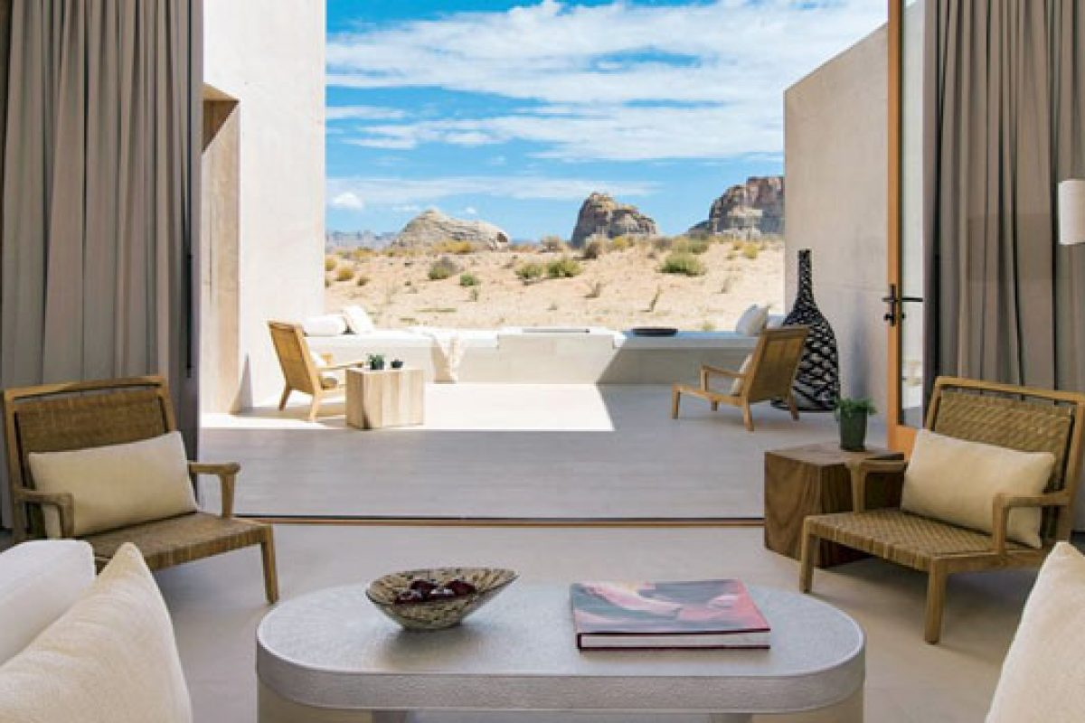 Rooms with a view. Taschen publishes a collection of 100 heavenly hideaways