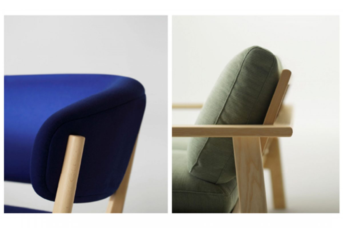 Bruno and Roundish, the newest collections by Jasper Morrison and Naoto Fukasawa for maruni Japanese company