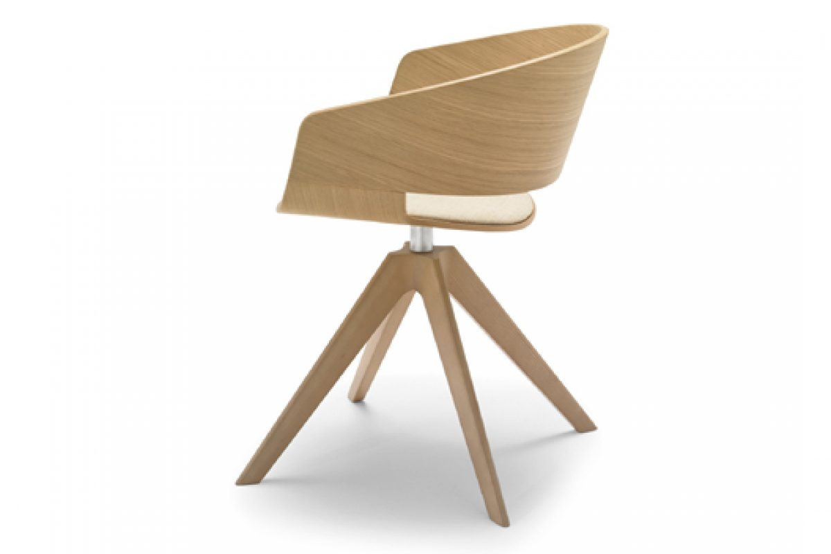 "The Ronda Chair, designed by Lievore Altherr Molina for Andreu World, awarded the prestigious ""Red Dot"" 2014 Design Product award"