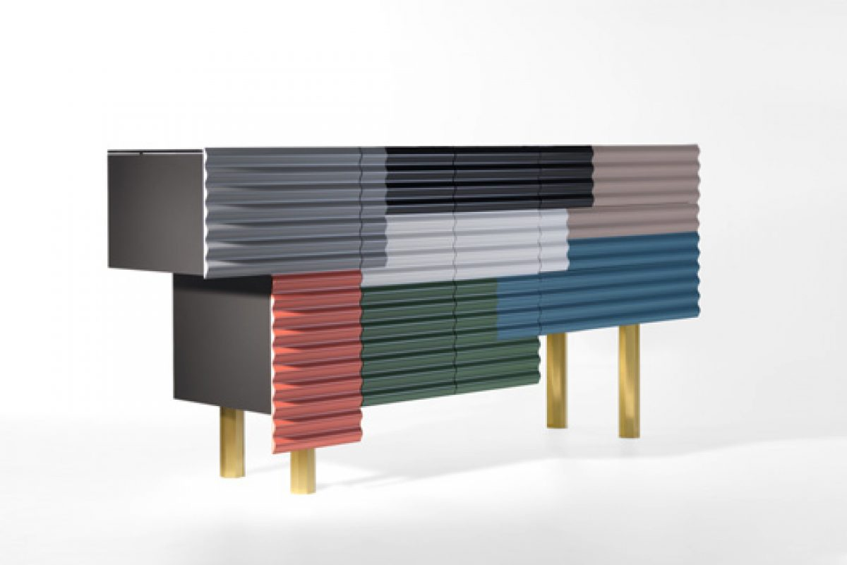 "Shanty, the new piece of BD's collection of ""cabinets"" designed by Doshi Levien"