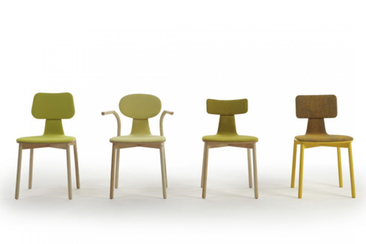 Nadadora design studio honors the classics of the twentieth century with Silla40 Collection by Sancal