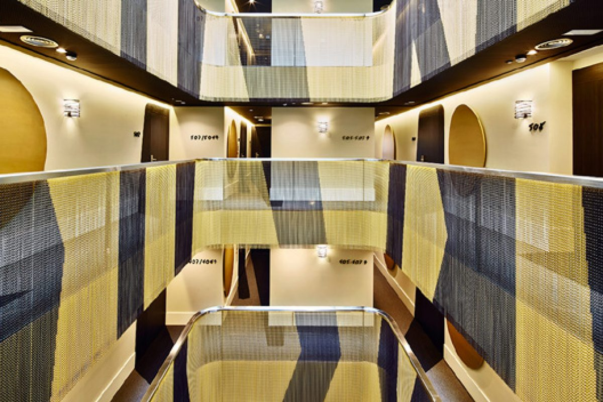 KriskaDecor curtains bring creativity, originality and stylish to new Vincci Gala Hotel in Barcelona