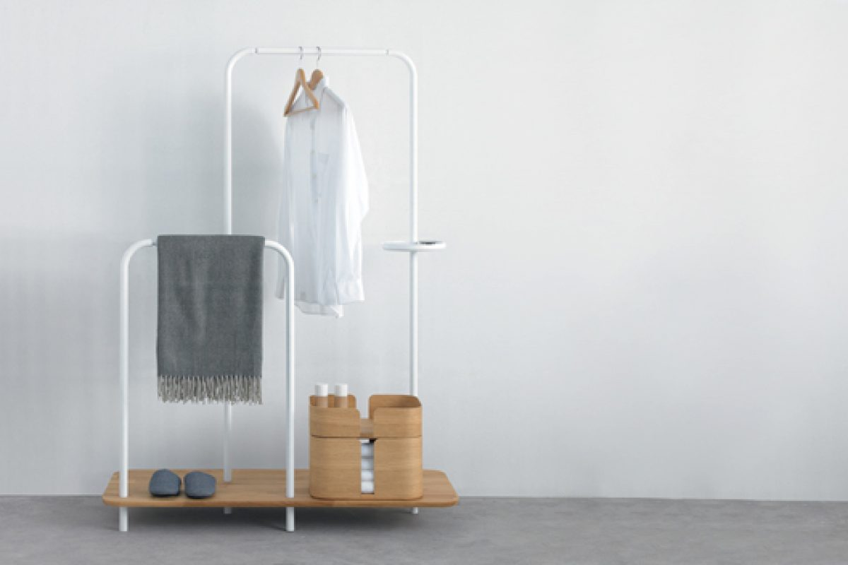 Plateau, functional design to maintain order. A piece created by Swedish studio Note Design for Punt