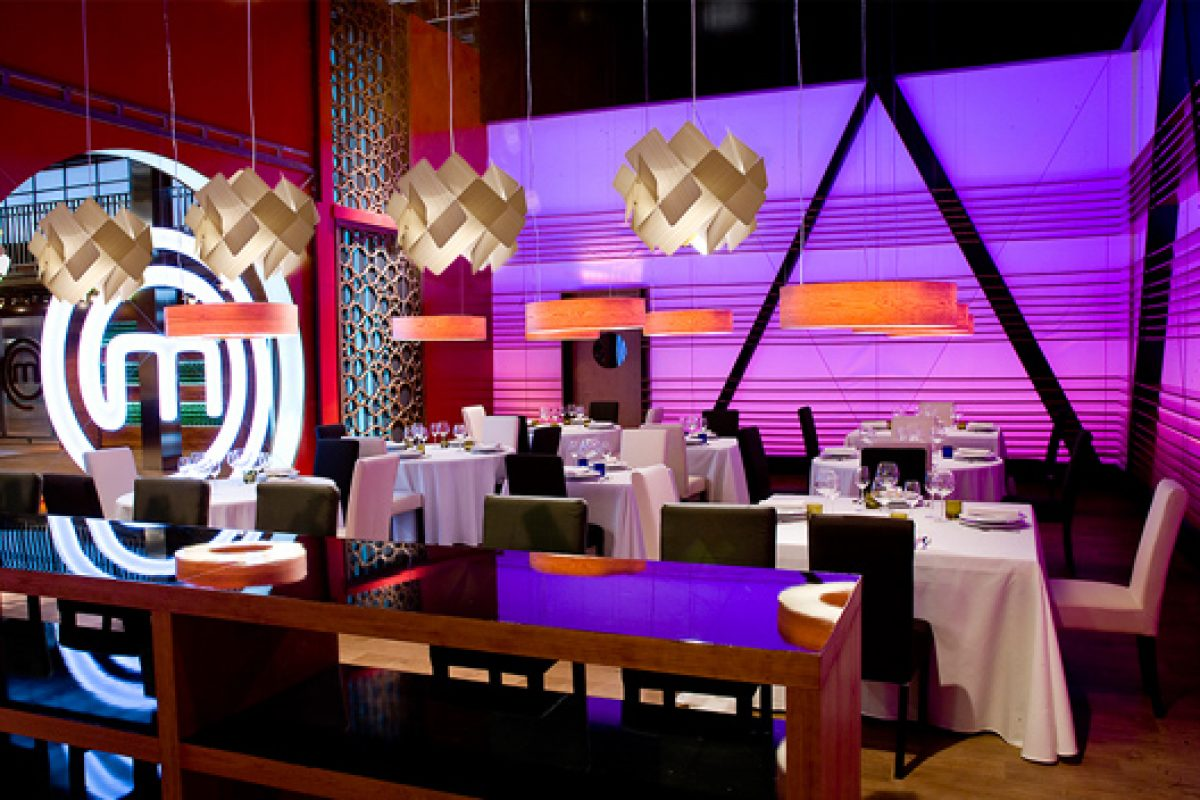 Lzf Lamps lights the restaurant of successful TV show, MasterChef™