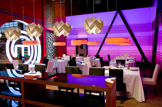 Lzf Lamps Lights The Restaurant Of Successful Tv Show Masterchef News Infurma Online Magazine Of The International Habitat Portal Design Contract Interior Design Furniture Lighting And Decoration