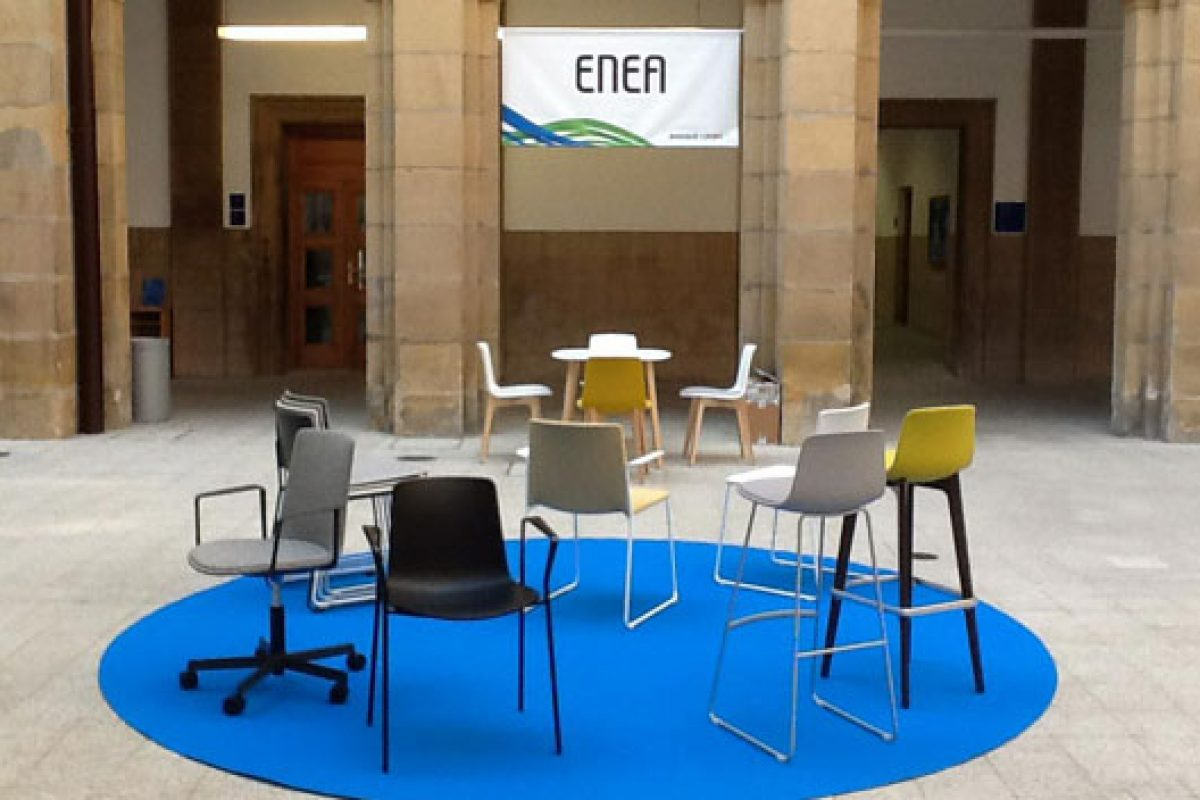 ENEA promotes its products at the Basque Living 2014 among Scandinavian architects and prescribers