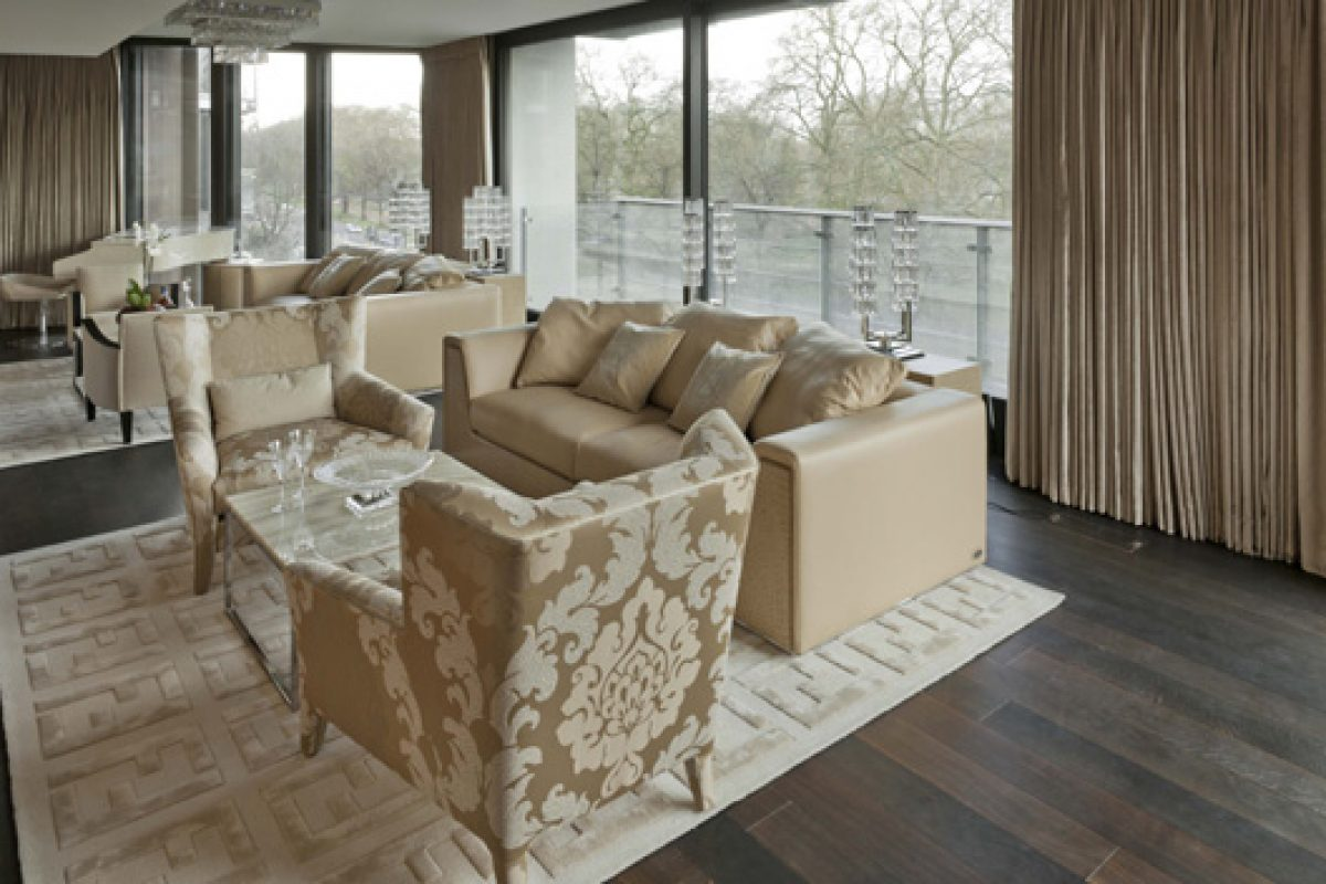 Fendi Casa and Voix Interiors furnish a prestigious residence at the One Hyde Park in London