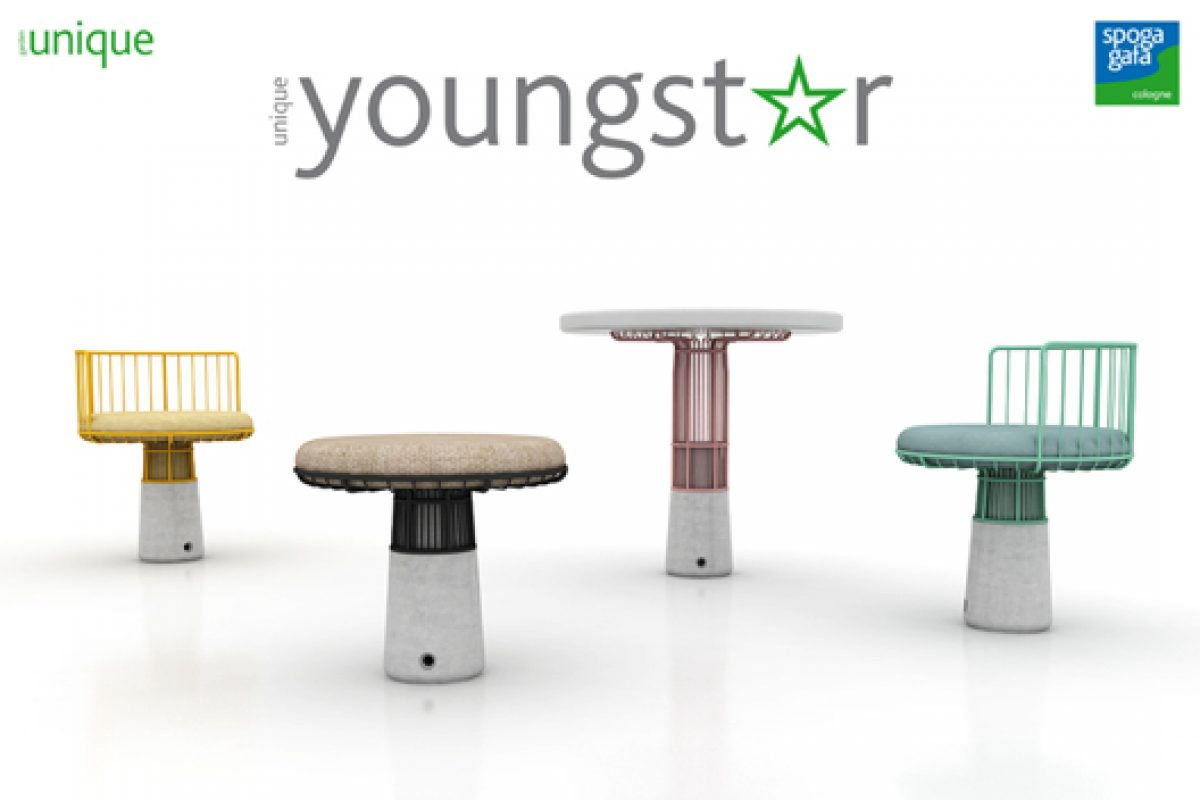 unique youngstar: the competition for young designers of outdoor items already has finalists. Online voting for the Public Prize