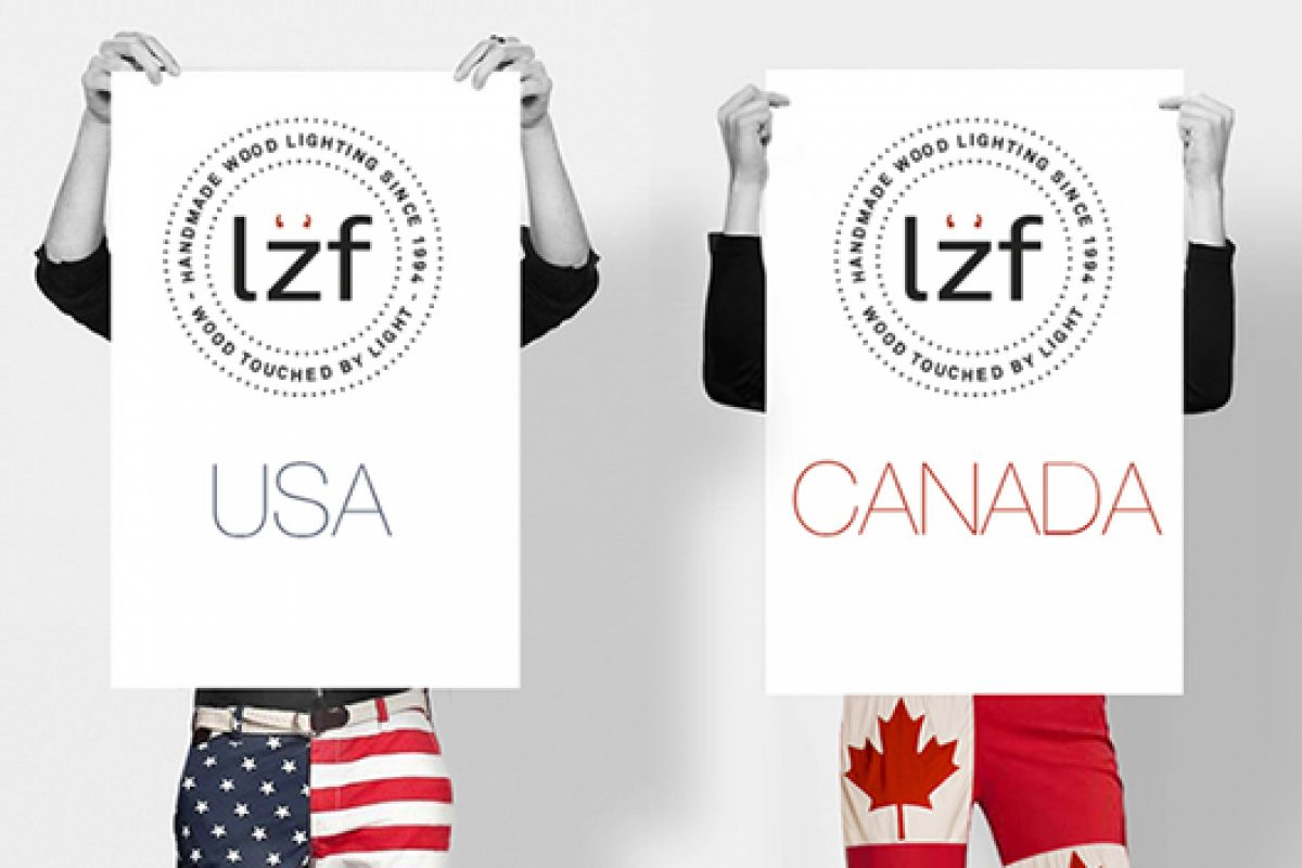 Lzf Lamps is back to light the United States and Canada from the hand of its new distributor Import&Ent