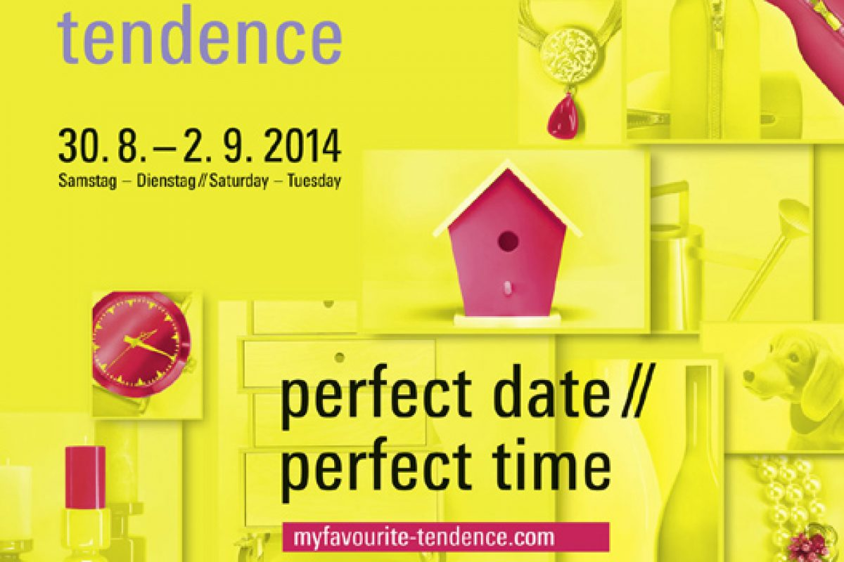 'My favourite Tendence' campaign to whet visitors' appetite for the consumer-goods highlight in August