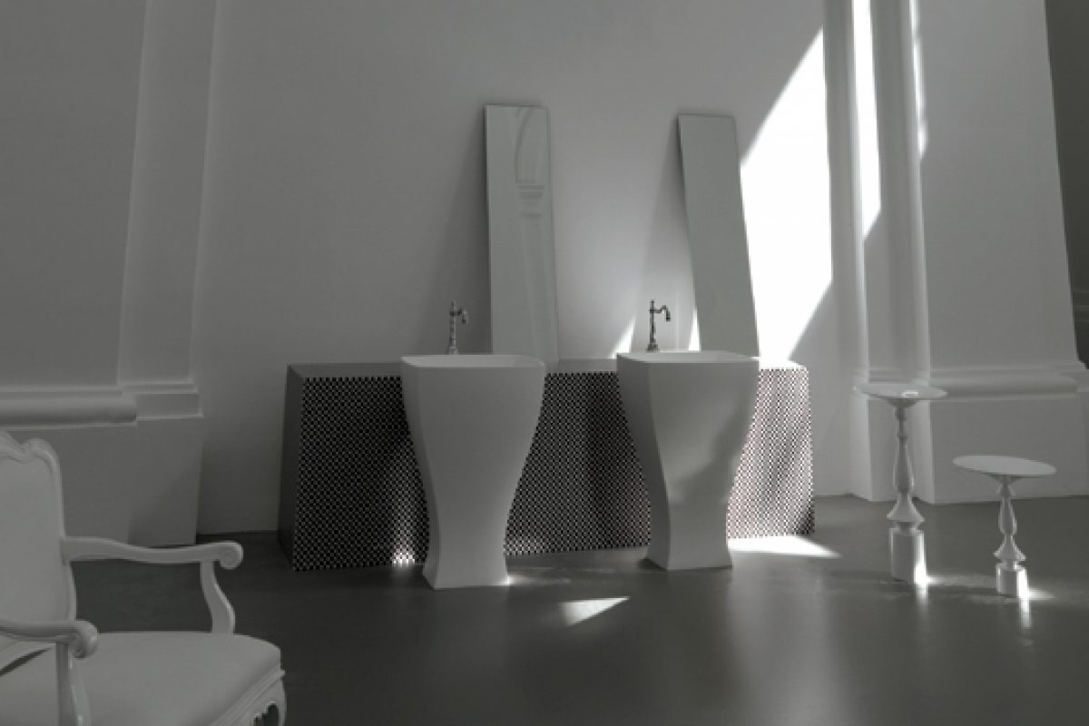 Artceram Jazz, a bathroom collection in full swing designed by Meneghello Paolelli Associati