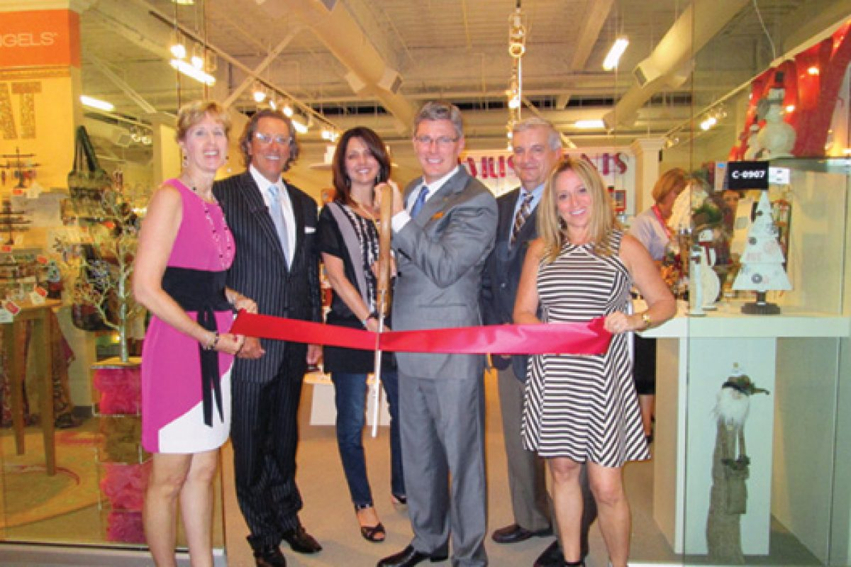 Nearly 50 ribbon cutting ceremonies at the opening of Las Vegas Market honoring new-to-market exhibitors