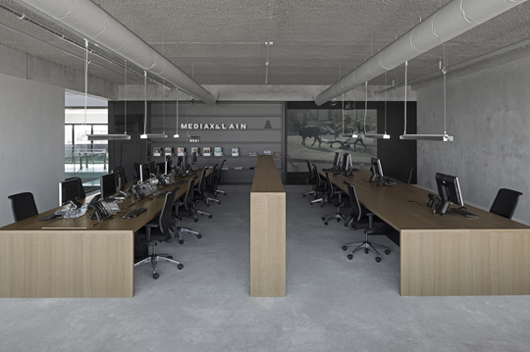 Office For Design And Architecture In I29 Interior Architects And Vmx Architects Design The New Workplace u201coffice 05u201d For Mediaxplain