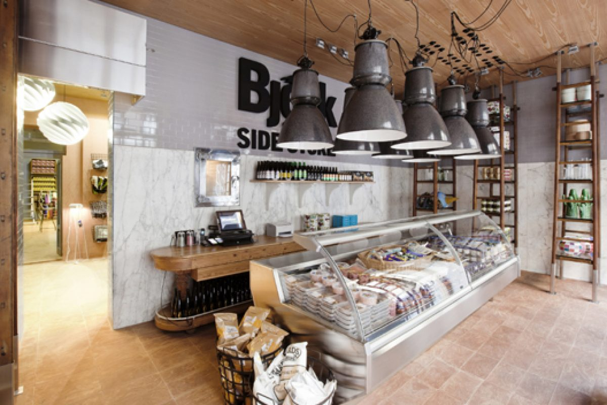 The Nordic food and design project, Björk Side Store, has been chosen as one of the best international concept stores