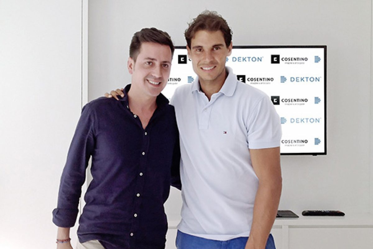 The Cosentino Group enters into a collaboration agreement with tennis player Rafa Nadal to sponsor the «Rafa Nadal Academy by Movistar» project
