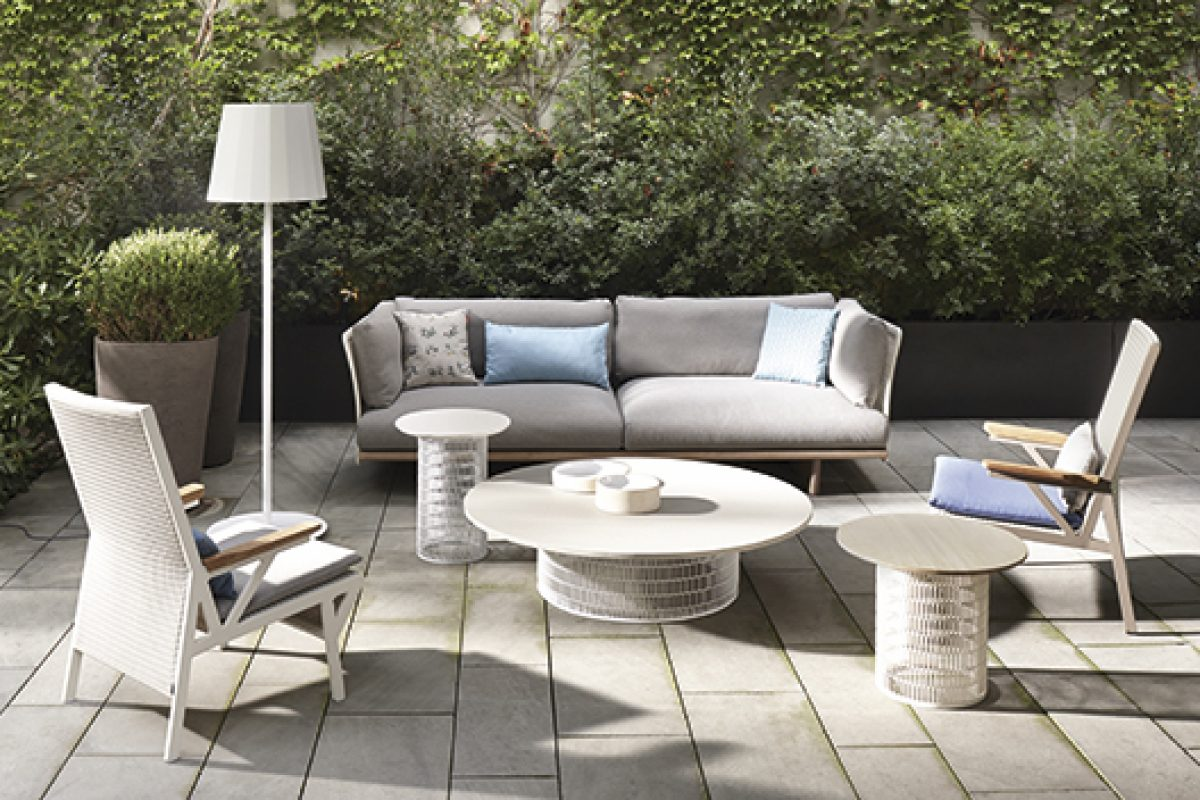 Patricia Urquiola extends the Kettal Mesh collection with a family of tables