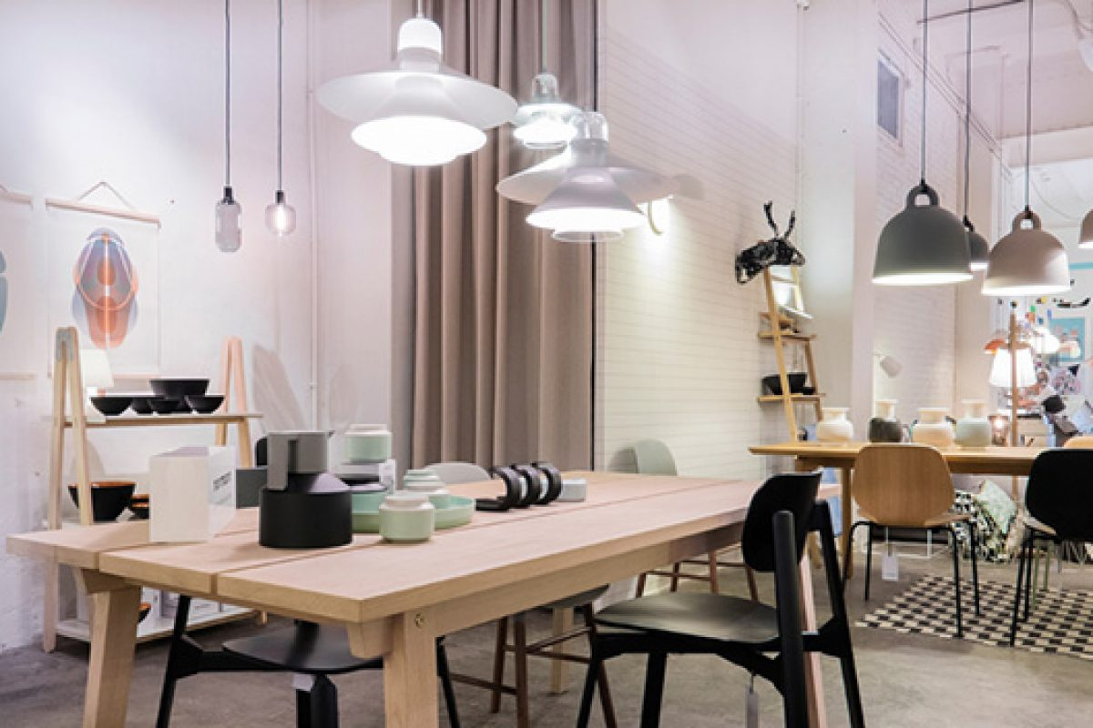 Scandinavian design by Normann Copenhagen takes on Barcelona with Nordicthink