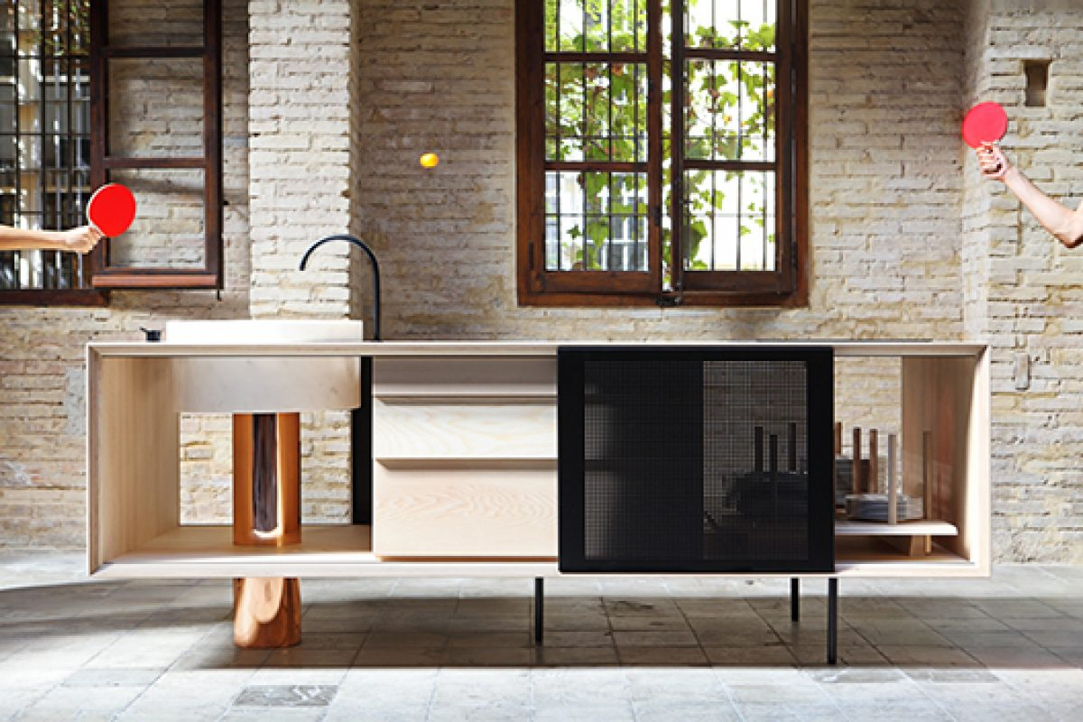 Mut designs Float for the brand Miras Editions, sustainable art within the kitchen