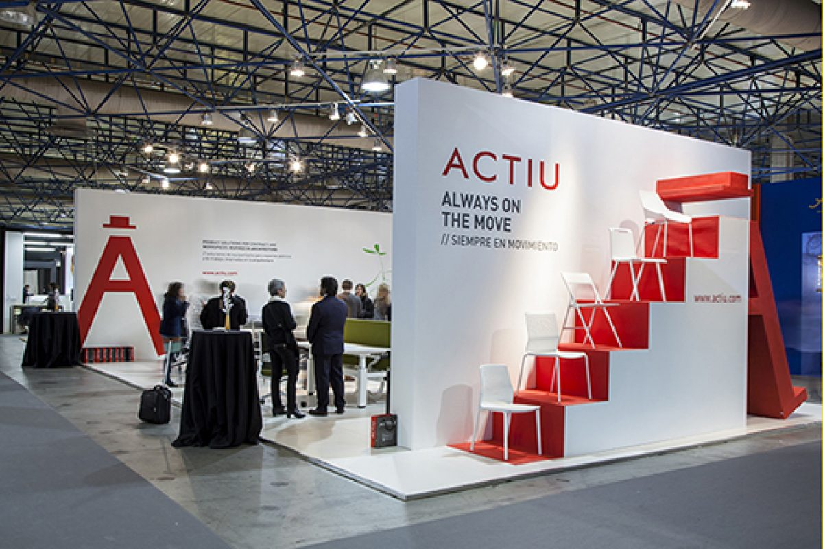 Actiu presents at Feria Habitat Valencia 2015 'Spaces that inspire'