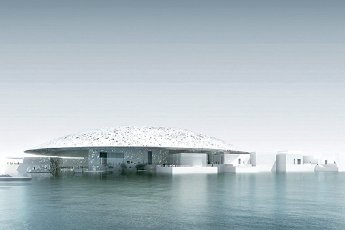 Luxiona Group lights up the Louvre museum in Abu Dhabi, the parliament of Vietnam and the Unicredit headquarters in Milan
