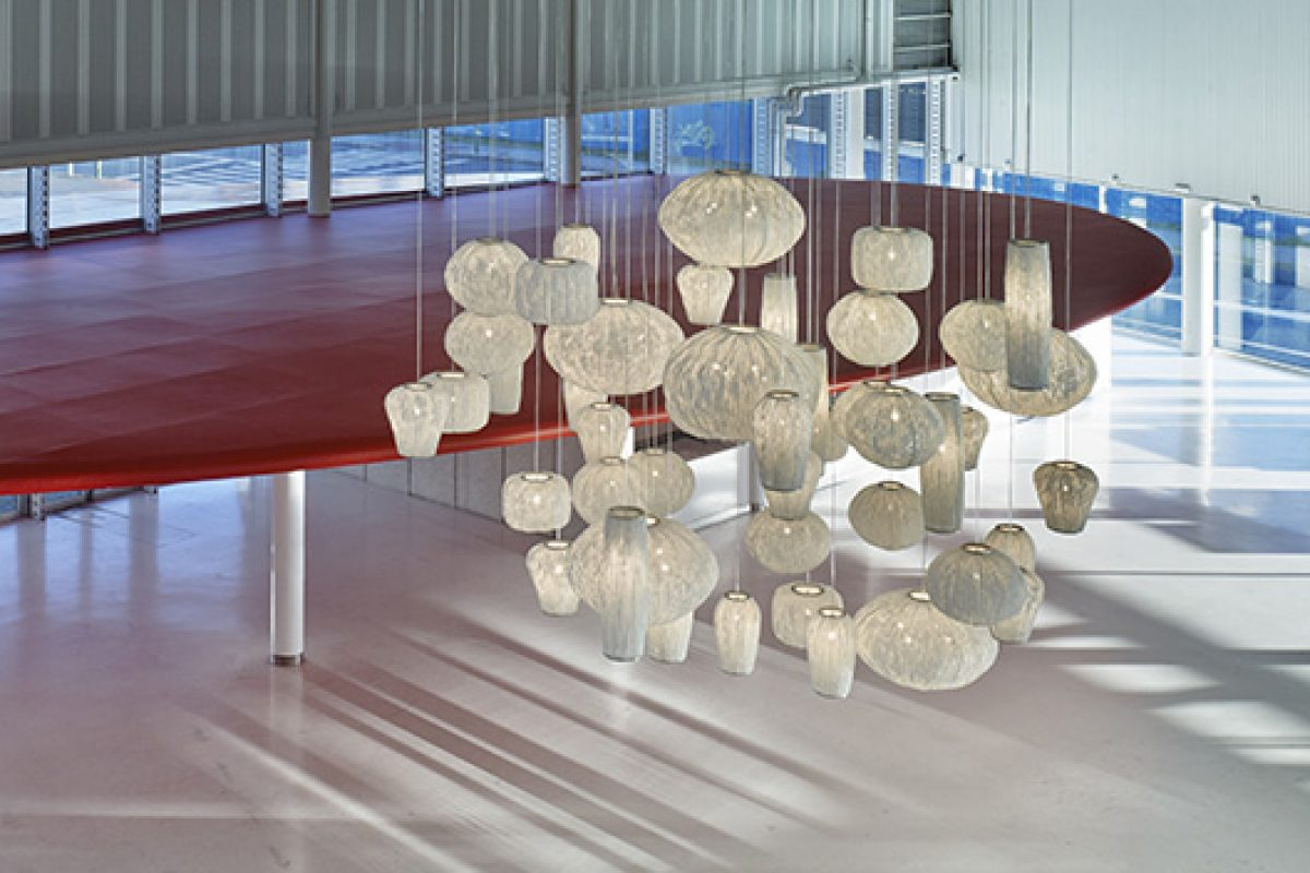 Coral collection by Arturo Alvarez, a perfect combination of shapes for contract and facilities