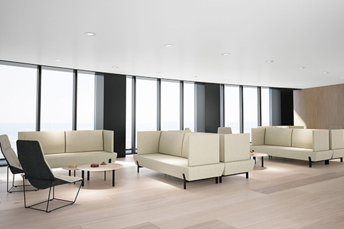 Seating acquires a new dimension with Platform, the collection designed by Arik Levy for Viccarbe