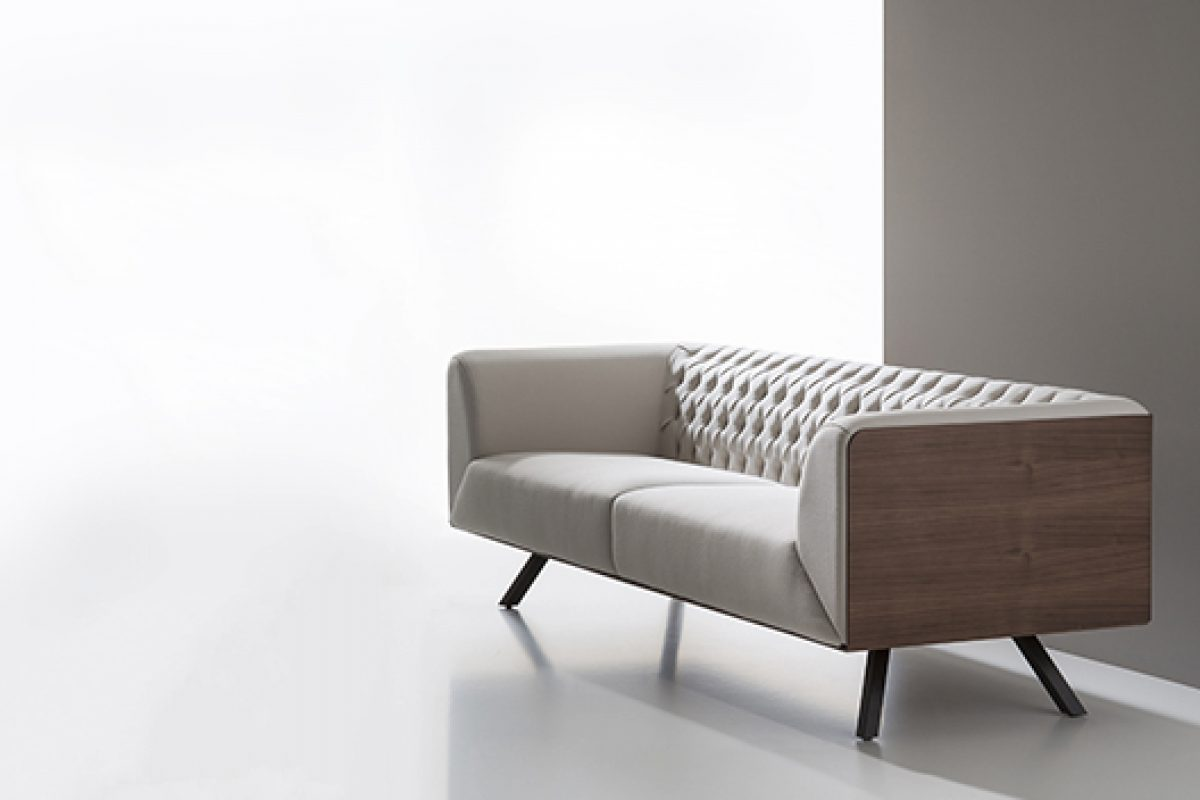 Ikon, the flagship model of the new B&V collection, designed by Alegre Design Studio
