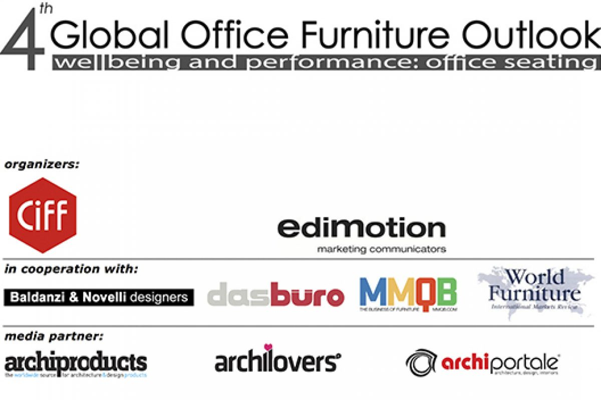 CIFF organizes the 4º Global Office Furniture Outlook, wellbeing and performance in office seating
