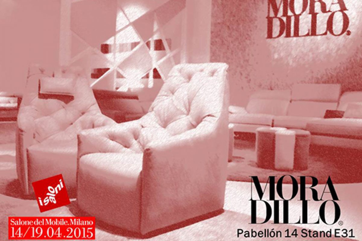 Moradillo unveils its new sofa & armchair collection at Salone del Mobile Milano 2015