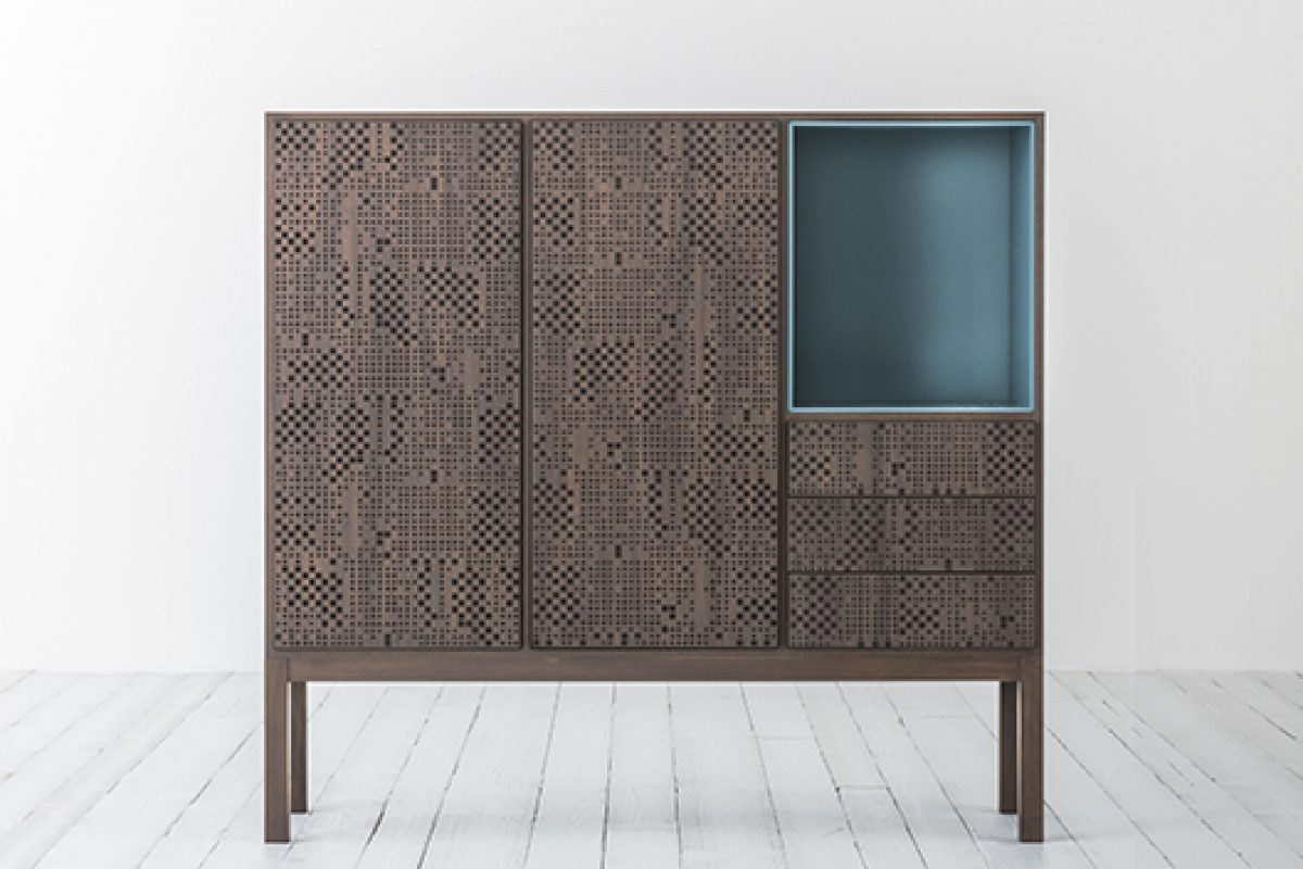 iSaloni 2015 preview: Hi-Deck cabinet designed by Carlo Tamborini for Capo d'Opera