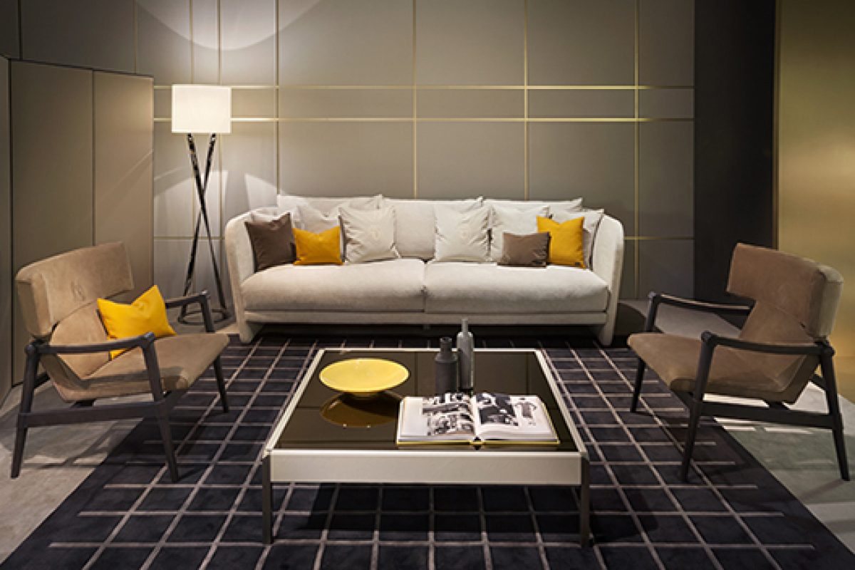 iSaloni 2015 preview: Cosmopolitan atmospheres in the selection of Trussardi Casa luxury furniture