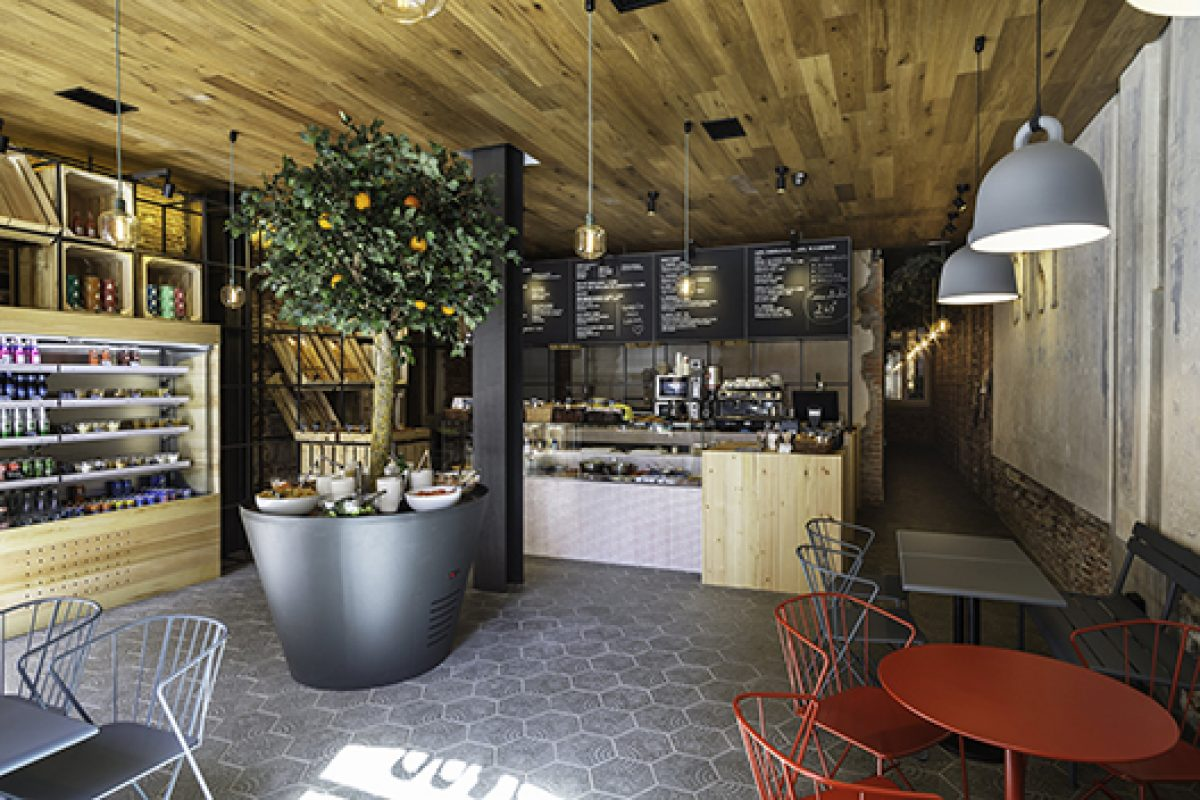 ZooCo brings freshness and detail defining the concept of Restaurant Gust Madrid