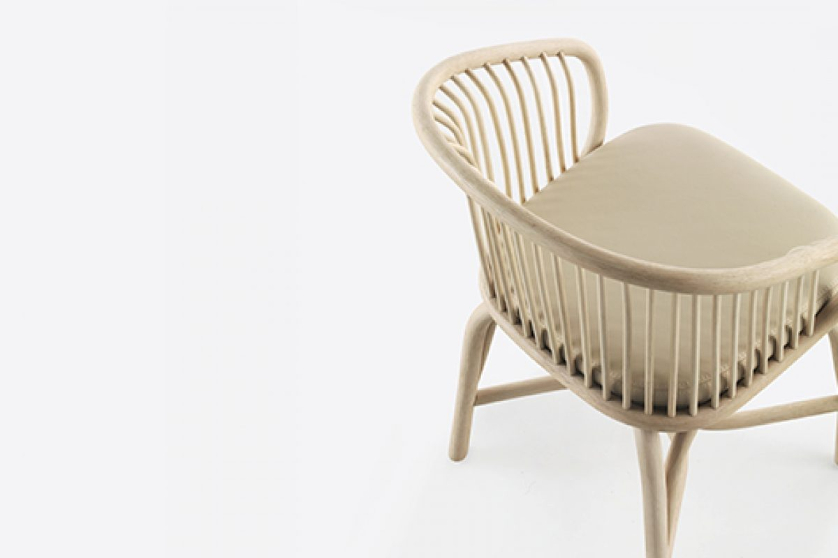 iSaloni 2015 preview: Huma, the chair that predicts happiness designed by Mario Ruiz for Expormim