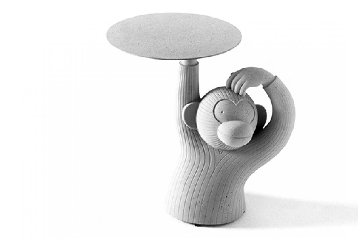 iSaloni 2015 preview: Monkey-shaped side table designed by Jaime Hayón for BD Barcelona Design