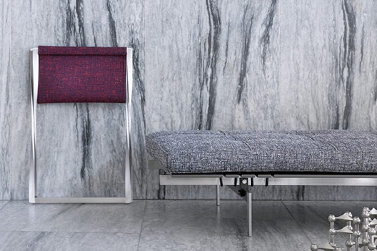 Fritz Hansen launches fashionable, limited editions from the Poul Kjærholm Collection with Kvadrat/Raf Simons upholstery textiles