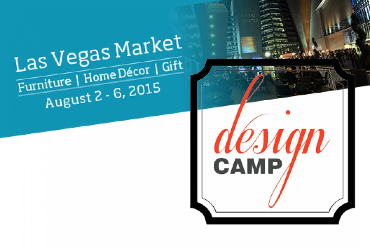 Las Vegas Market partners with Design Camp for Summer event 2015
